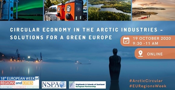 Circular economy in the Arctic industries (virtuellt)